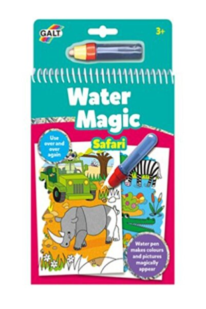 ERKOL OYUNCAK Magic Water Book Sihirli Boyama Kitabı Hayvanlar Alemi