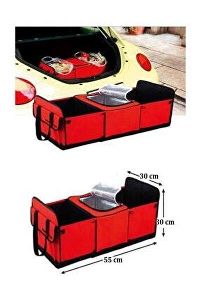 Araç Içi 3+2 Bölmeli Bagaj Soğuk Tutucu Düzenleyici Termal Çanta Trs105