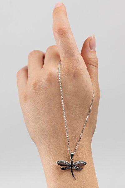 Mode Silver Yusufçuk Gümüş Kolye