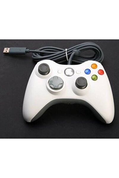 comse Microsoft Xbox 360 Gamepad Joystick Oyun Kolu Kablolu Pc Uyumlu Beyaz