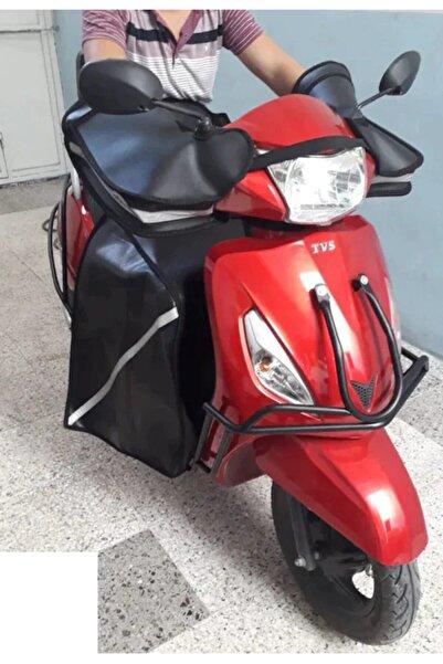 Belderia Scooter Motorsiklet El Koruma Rüzgarlık++ Diz Örtüsü Birlikte Set