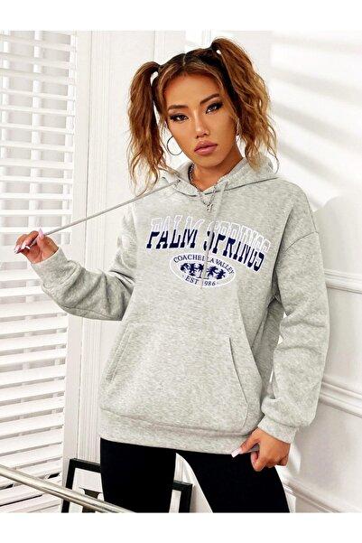 Millionaire Kadın Karmelanj Palms Springs Kadın Sweatshirt