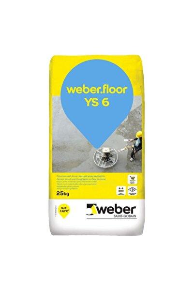 WEBER .floor Ys 6 Kuvars Agregalı Gri Yüzey Sertleştirici
