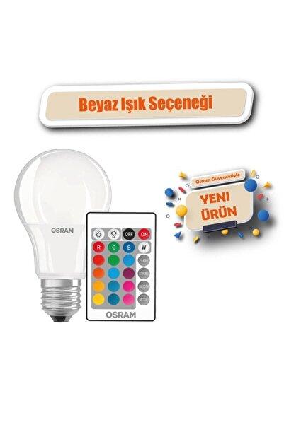 Osram Rgb 9w Uzaktan Kumandalı Renk Değiştiren Led Ampul Beyaz Işık