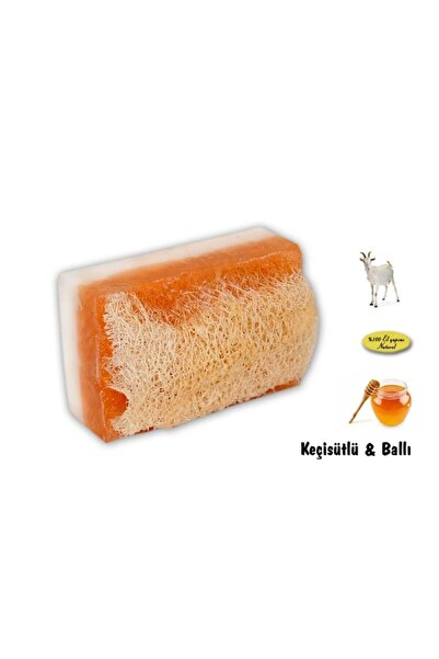 Ns Herbals Doğal Kabak Lifli Keçi Sütlü & Ballı Sabun 120 Gr