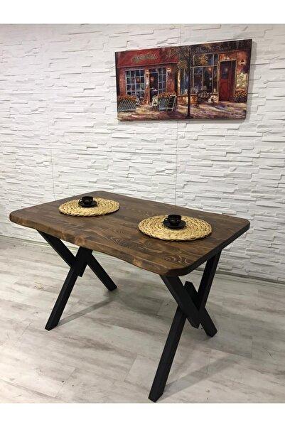 AVVİO Kütük Yemek Masası Takımı-mutfak Masası Takımı