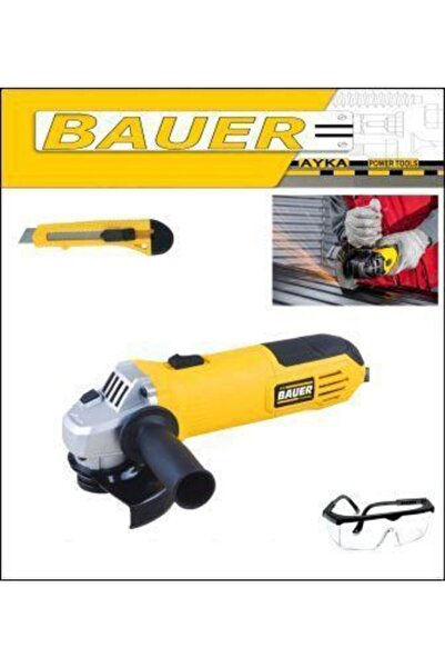 BAUER Plus 2000 Watt Sjs Metal Şanzuman Spiral Taşlama Makinası 115-125 Mm