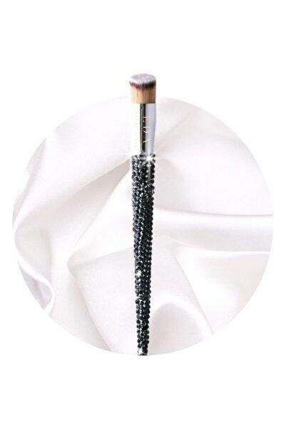 EDA LUXURY BEAUTY Likit Fondöten Makyaj Fırçası Kristal Taşlı Kontür Concealer Liquid Foundation Blender Makeup Brush