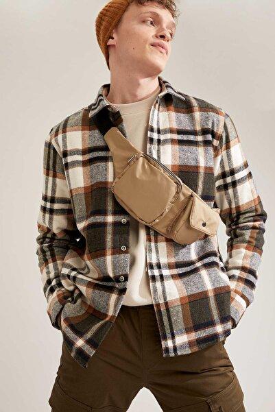 DeFacto Regular Fit Ekose Desenli Uzun Kollu Oduncu Gömlek Ceket