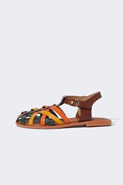 DeFacto Kız Çocuk Renkli Sandalet
