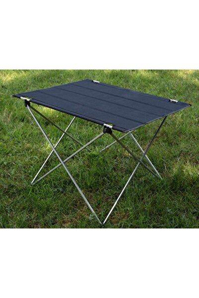 Exent Katlanabilir Masa Piknik Bahçe Balkon Çok Amaçlı Katlanır Kamp Masası Çantalı Katlanan Masa