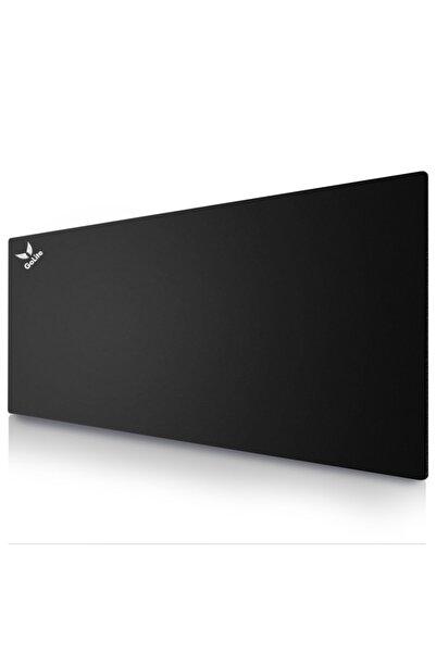 GoLite Siyah Gaming Mouse Pad Oyuncu Büyük Boy Mousepad 70x30 Cm Klavye Fare Altlığı