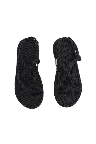 XHAN Siyah Hasır Terlik 1yxk9-45211-02