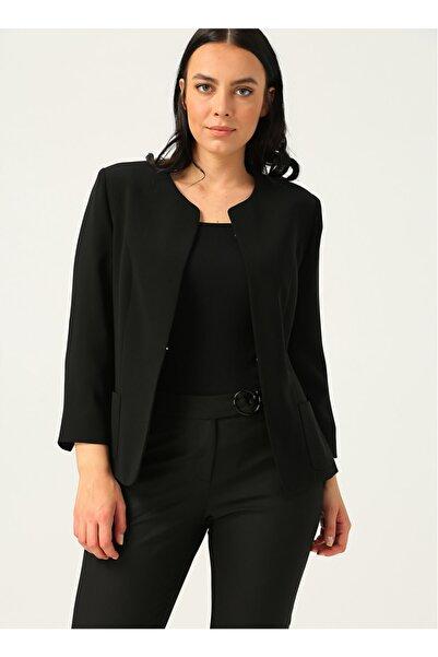 Ekol 6007 Siyah Kadın Ceket