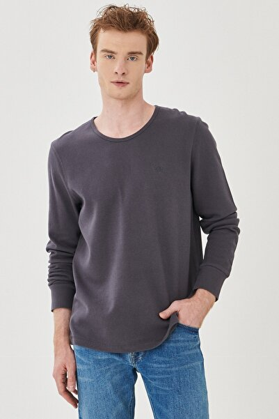 Lee Regular Fit Normal Kesim %100 Pamuk Sıfır Yaka Sweatshirt