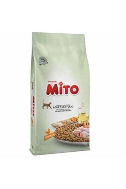 Mito Premium Tavuklu Yetişkin Kedi Maması 1kg. Bölünmüş Orijinal Ürün