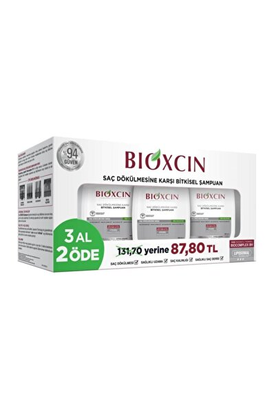 Bioxcin Genesis Yağlı Saçlar Için Şampuan