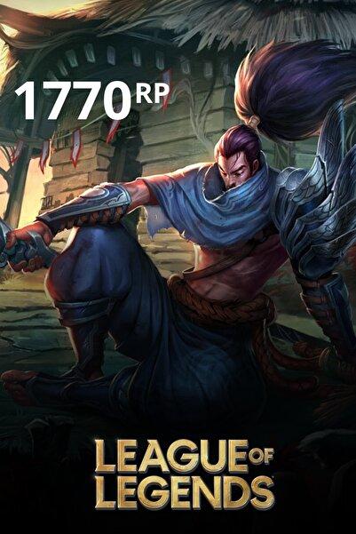 Riot Games League Of Legends 1770 Rp Tr