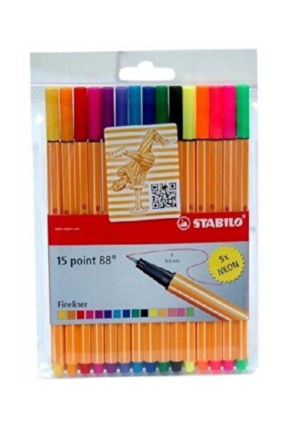 Stabilo Point 88 10+5 Askılı 8815-1