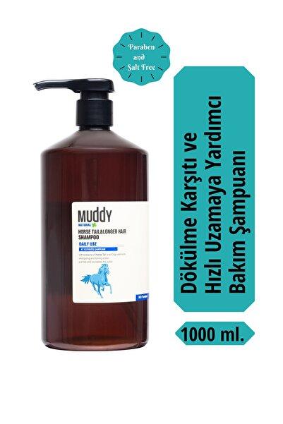 Muddy Natural Horse Taıl & Longer Hair Sağlıklı Uzayan Saçlar İçin At Kuyruğu Şampuan 1000 ml