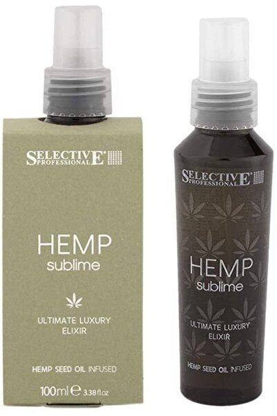 Selective Hemp Sublime Ultimate Luxury Elixir Saç Serumu