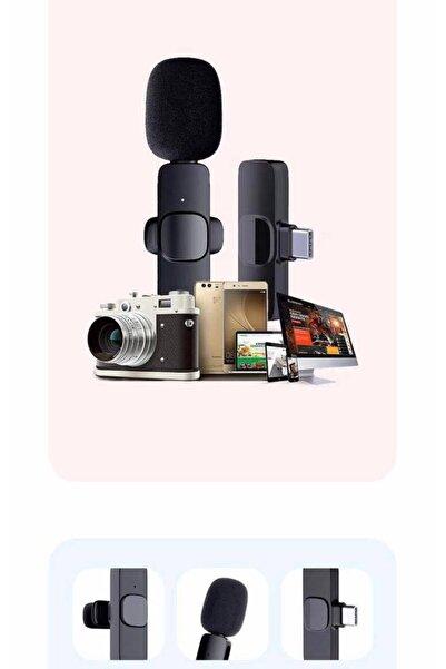 Dynego Bluetooth Mikrofon 20 Metre Alan Ios&android Youtube Facebook Vlog Tiktok Mikrofonu