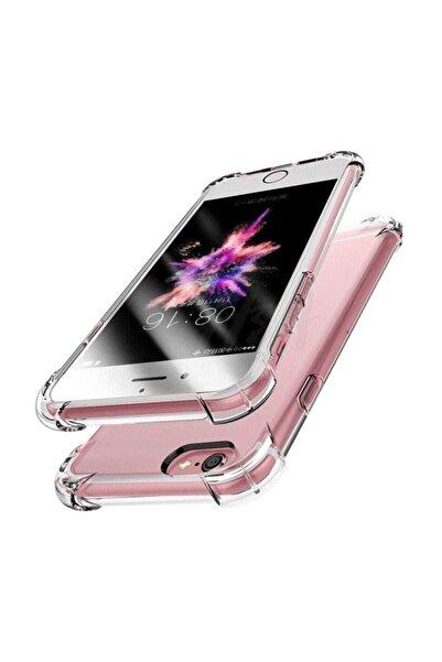 Telefon Aksesuarları Zengin Çarşım Apple iPhone 6 Plus / 6s Plus Ultra İnce Şeffaf Airbag Anti Şok Silikon Kılıf - Şeffaf