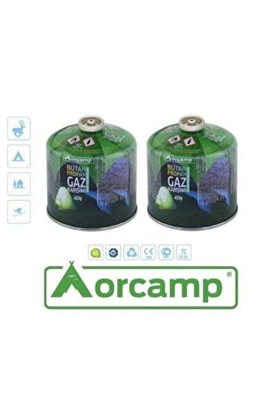 Orcamp Orgaz 450 gr Vidalı Gaz Kartuş 2li Set Tüp - Kts 450