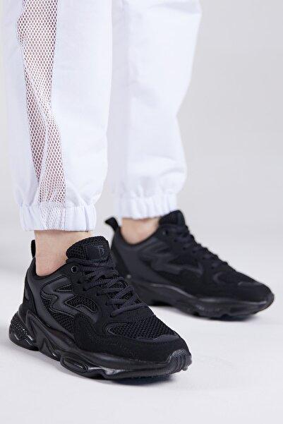 Tonny Black Unısex Siyah Spor Ayakkabı Tb251
