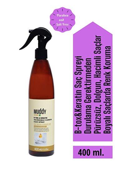 Muddy B-tox & Keratin Onarıcı Acil Bakım Spreyi 400 ml