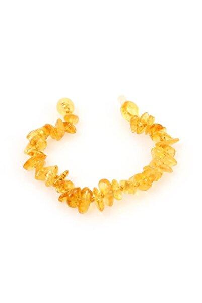 Serap Yılmaz Sahi Doğal Kehribar Bebek Diş Bileklik Amber013