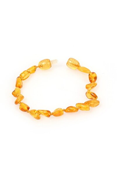 Serap Yılmaz Sahi Doğal Kehribar Bebek Diş Bileklik Amber016