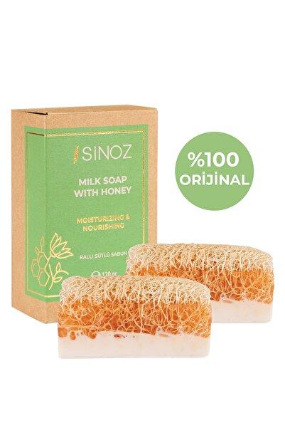 SİNOZ Doğal Ballı Sütlü Sabun 2li Paket