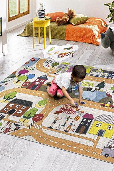 Koza Halı Style Çocuk Halı Oyun Halısı Multi 1003