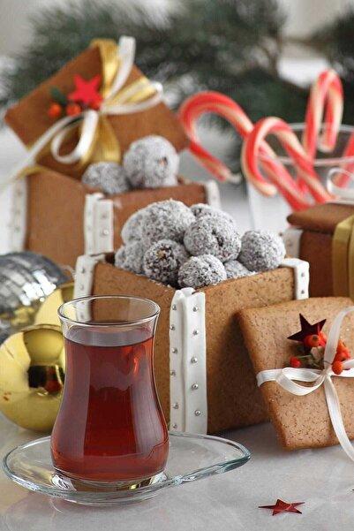LAV Eva Çay Takımı Çay Seti Çay Bardağı Ve Tabağı 12 Parça Fma05176