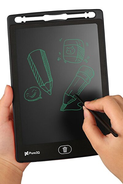 Pure IQ Digital Çocuk Yazı Çizim Tableti Lcd 8.5 Inc Ekranlı ve  Bilgisayar Kalemli
