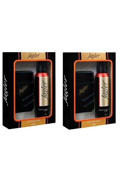 Jagler Classic Edy 90 ml Erkek Parfüm + 150 ml Deodorant 2'li Set 8690973027467-2