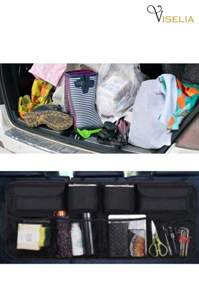Viselia Bagaj Düzenleyici Araç Içi Bagaj Eşya Düzenleyici Oto Bagaj Organizer 8 Cepli Fileli