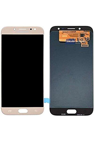 MİOSTORE Samsung Galaxy J730f J7 Pro Lcd Ekran Dokunmatik Süper A Kalite Gold Renk Yapıştırıcı Hediyeli
