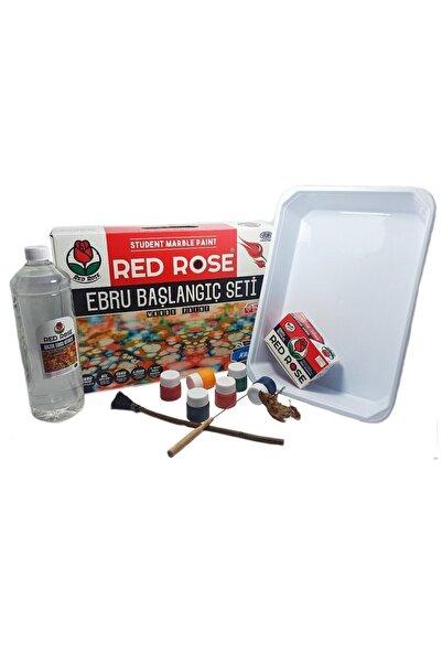 Red Rose Ebru Başlangıç Seti