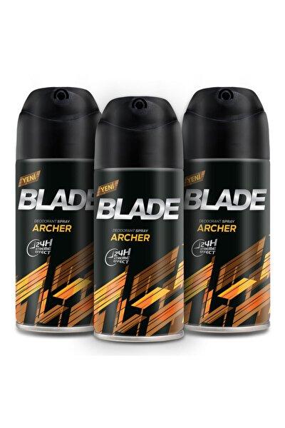 Blade Archer Erkek Deodorant 3x150ml