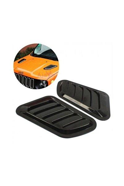 MeyZone Piano Black Kaput Üstü Havalandırma Izgara Kaput Üstü Body Kit