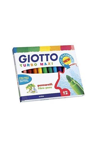 Giotto Turbo Maxı Keçeli Kalem 12 Renk
