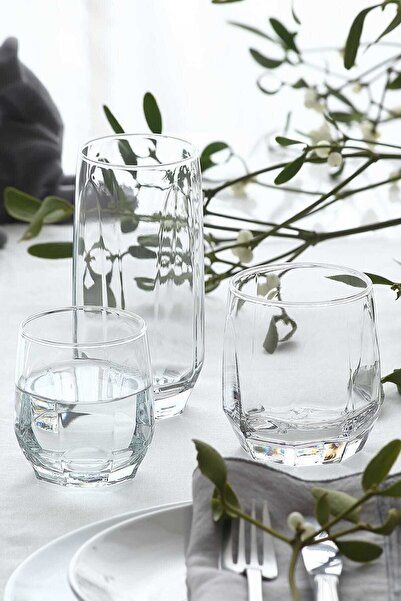 LAV Diamond 18 Parça Meşrubat Bardağı Seti Fma05058