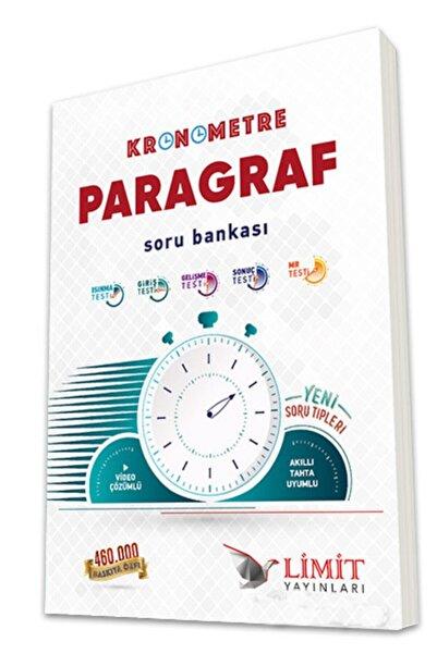 Limit Yayınları Limit Kronometre Paragraf Soru Bankası