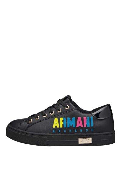 Armani Exchange Kadın Siyah Sneakers