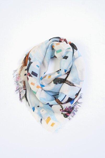 Silk and Cashmere Ipek Karışımlı Fiji Fular