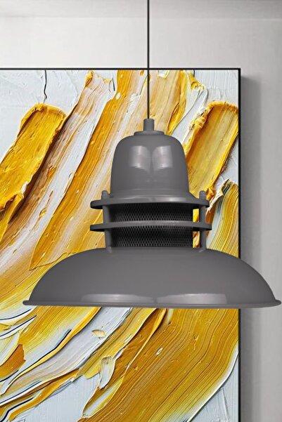 Bamyum Fener Gri Avize Tekli Sarkıt Mutfak Çocuk Odası Salon Masaüstü Lamba Aydınlatma Modelleri