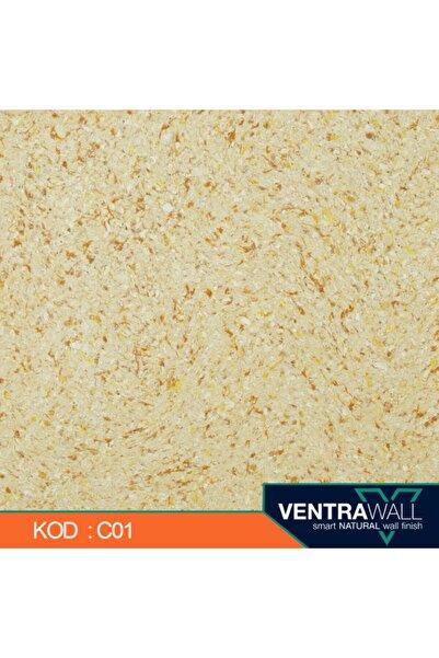 ventrawall Pamuk Duvar Boyası 1,5 Kg Krem C01