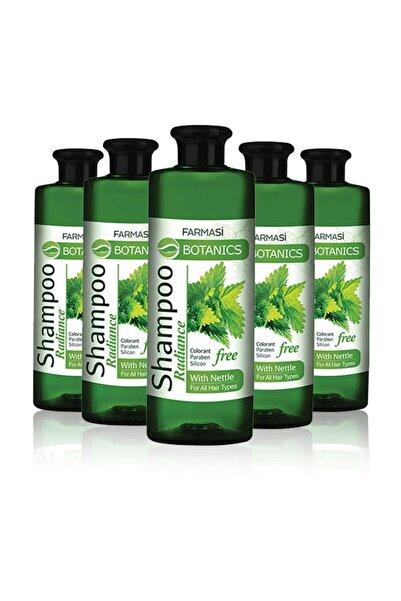 Farmasi Botanics Isırgan Özlü Parlaklık Veren Şampuan-500 ml 5 Adet